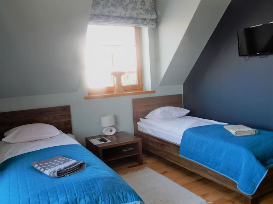 Łóżka osobno