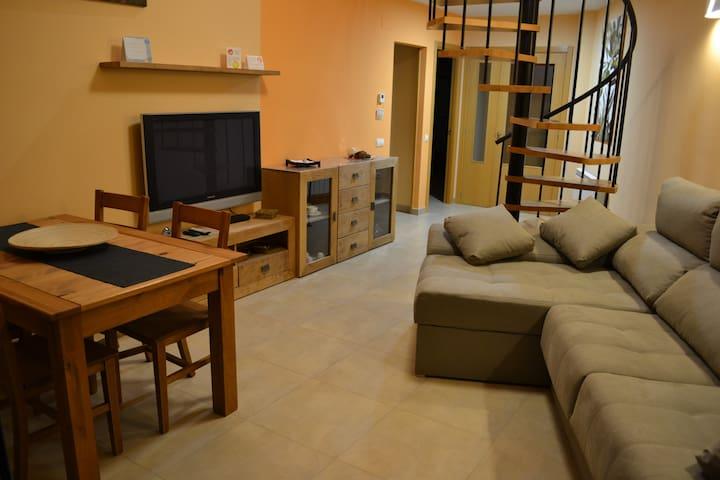 Apartamento rural 6 - 8 personas.