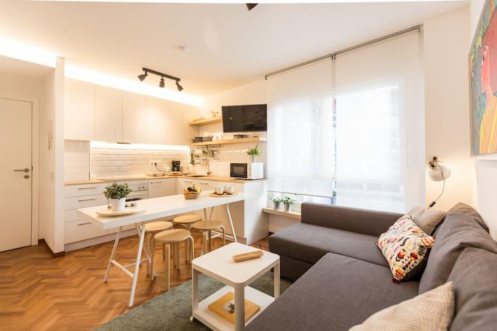 APARTAMENTO RECIÉN REFORMADO EN PLENO CENTRO - Santiago de Compostela - Apartemen