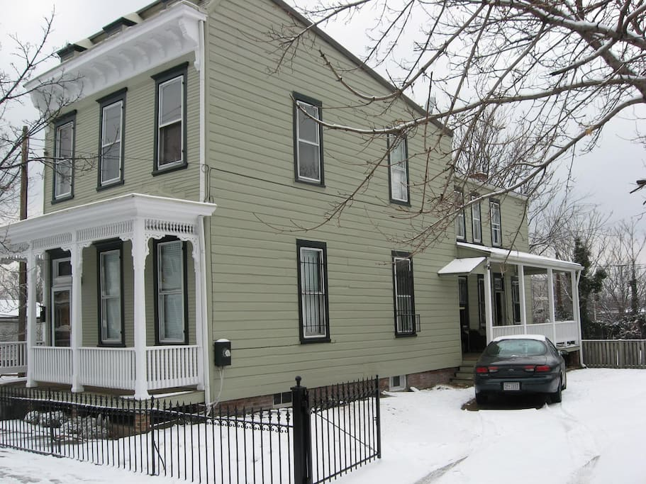 Our home in Historic Anacostia