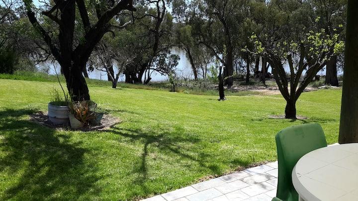 Lowbank Riverfront Getaway