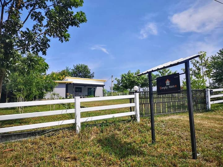 164 Simply Home 2BR nature scenery in Khao yai