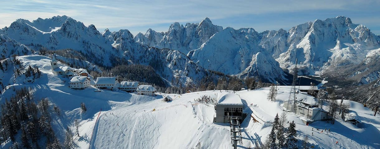 Residence Tarvisio Camporosso2 Appartamento 5 p.l. - 塔爾維肖(Tarvisio) - 公寓
