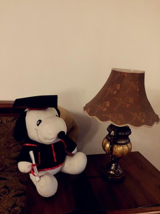 A corner of our living room.客厅一角