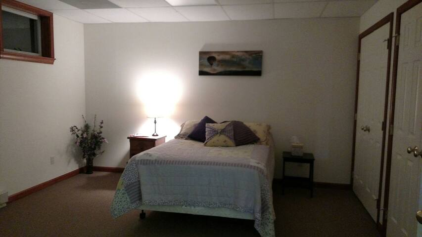 Spacious 3 room lower level - close to everything