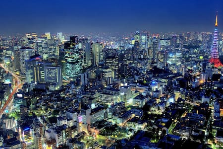 Awesome City View Shinjuku Studio! - Shinjuku-ku - Lakás