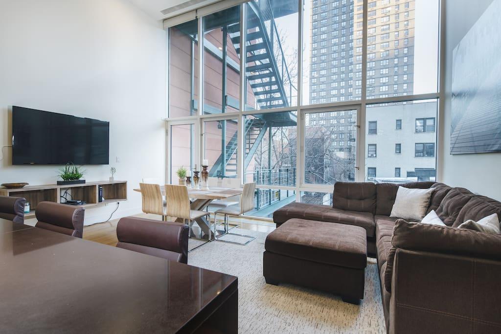 Luxury triplex 3bedroom 10 people lexington ave for Appartamenti lexington new york