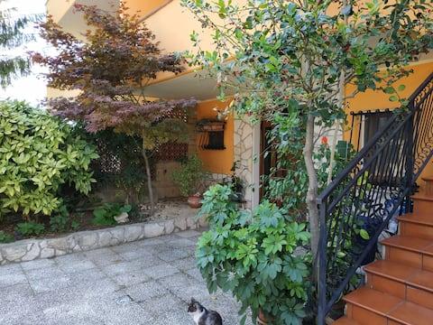 spacious/bright villa in the green of Abruzzo
