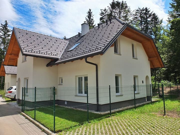 New large bright house at Bohinj lake