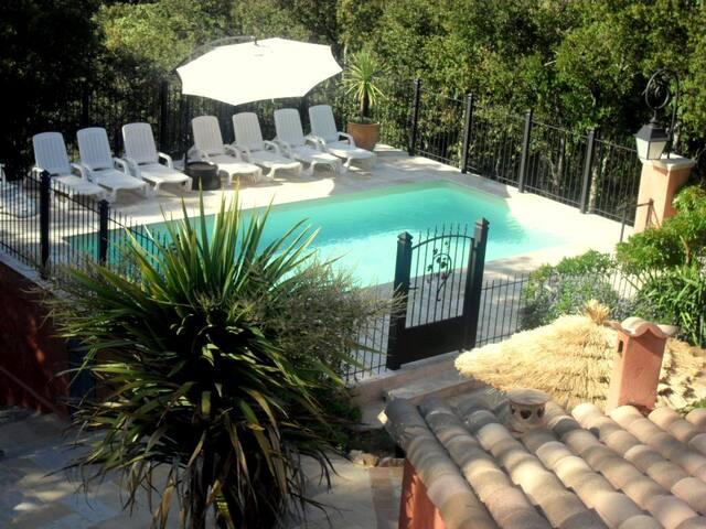 Meublé plain-pied Provence piscine 4 p Le Thoronet - Le Thoronet