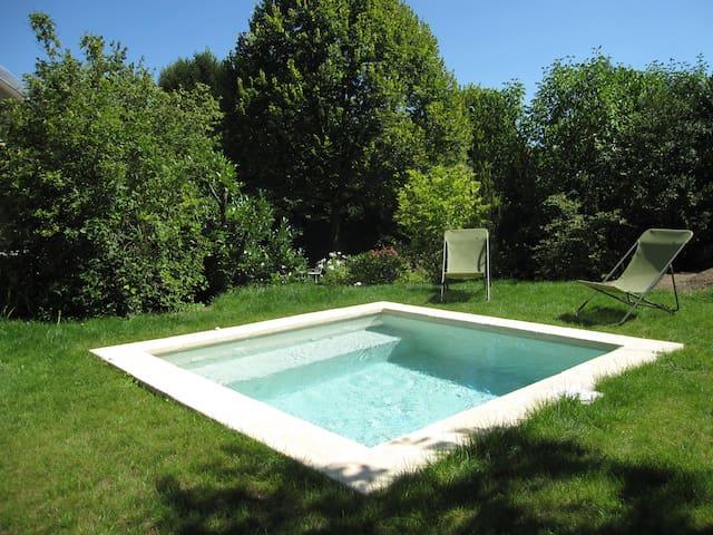 Chambre sur ravissant jardin - Aisy-sur-Armançon