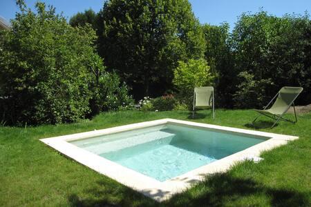 Chambre sur ravissant jardin