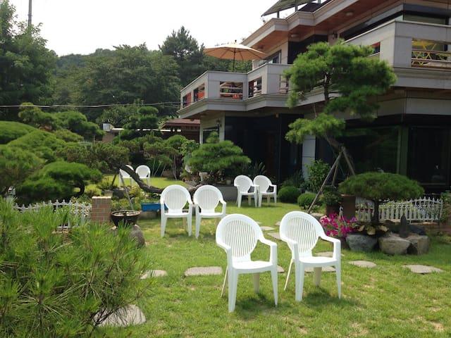 Amazingly beautiful green garden!! - 경주 - House