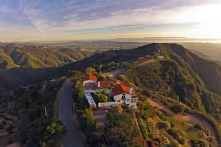 Unbelievable Ocean view mountain retreat - Santa Barbara - Haus