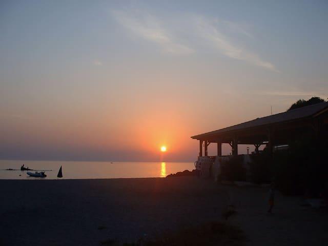 Belle petite maison sur la plage - Calcatoggio - House