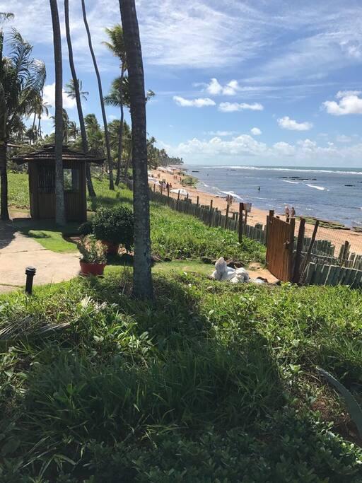 Entrada do Condomínio via Praia