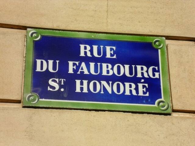 FAUBOURG ST- HONORE 3 ROOMS 4/6 P - Apartments for Rent in Paris ...