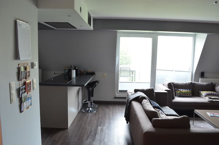 Modern Apartment close to the Lake - Bütgenbach - Apartemen