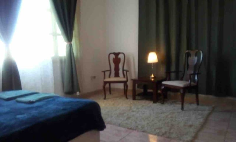 Entire one bed apartment in khalifa A