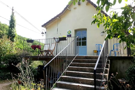 Gite at Le Roc between Sarlat and Souillac. - Le Roc - Wohnung