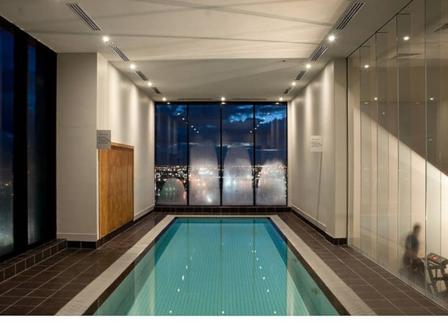 Pool and gym on 25th floor