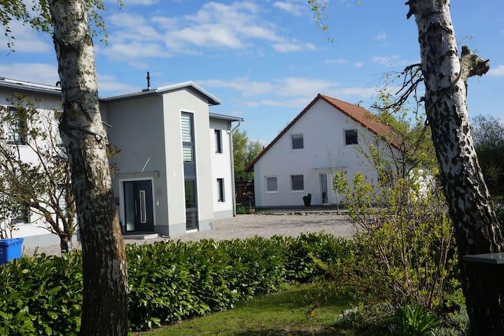 Family-friendly house on pristine plot of land