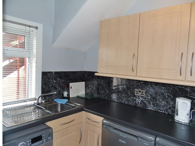 Large apartment central location - Falkirk - Daire