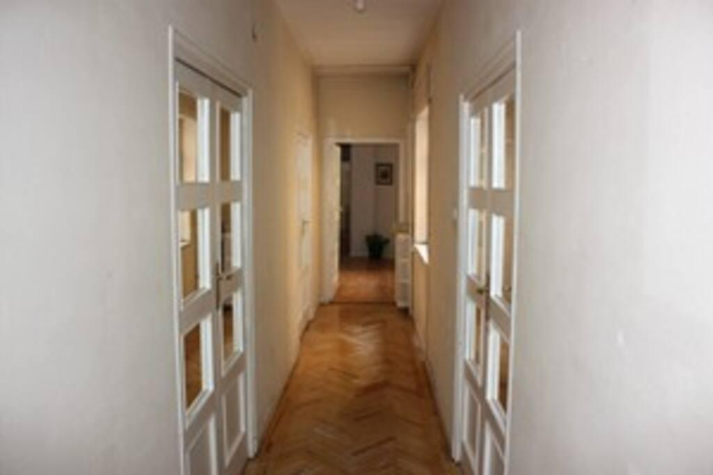 pasillo acceso dormitorios