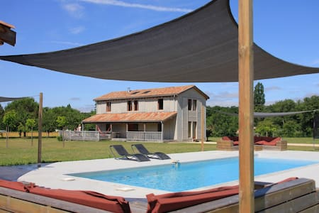 Maisons Les Ormes - house with pool