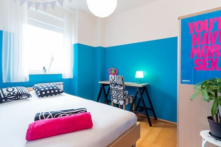 Blue Dreams Double Room near Center - Apartment