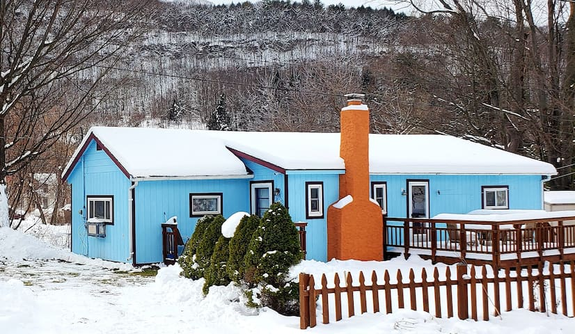 Catskill Cottage-couples getaway, Windham & Hunter