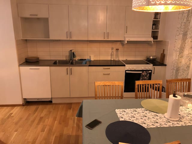 Newly built two bedroom apartment, close to city