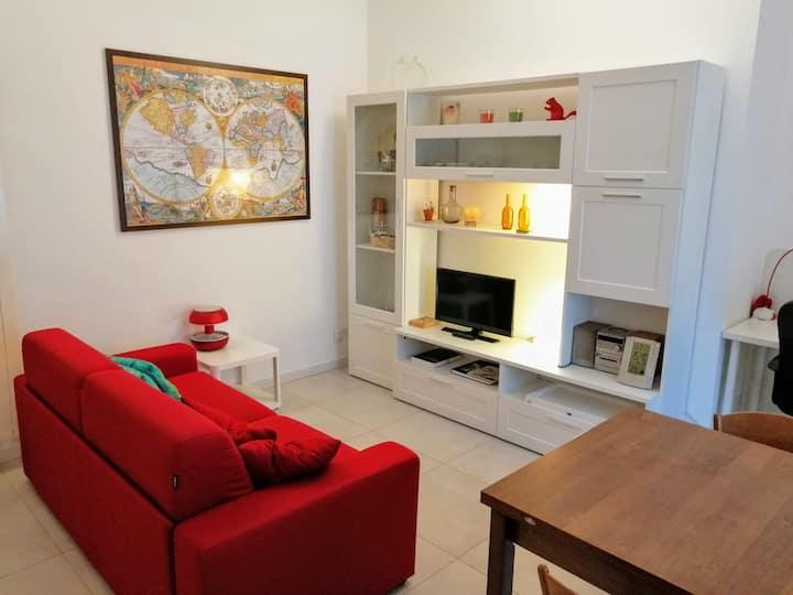 Da Chiara: City center, bedroom and livingroom.