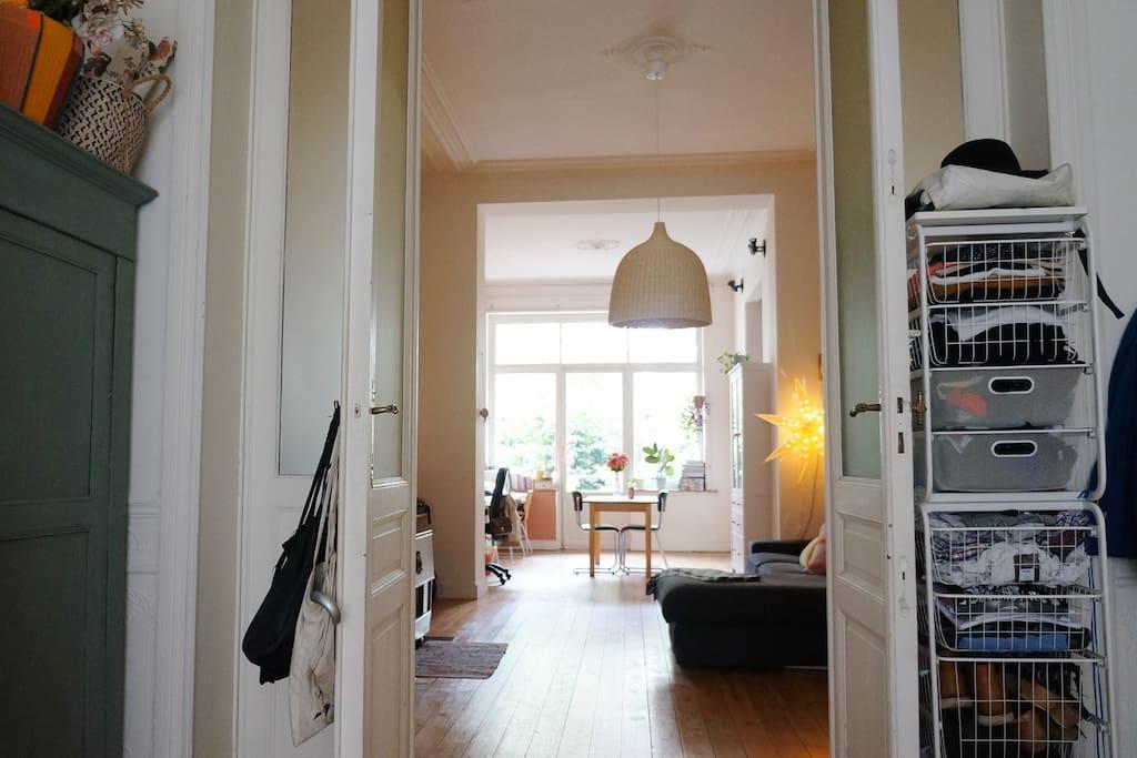 Appartement en enfilade