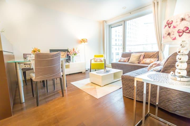 Family Apartment for 8 ppl Canary Wharf/O2/Excel