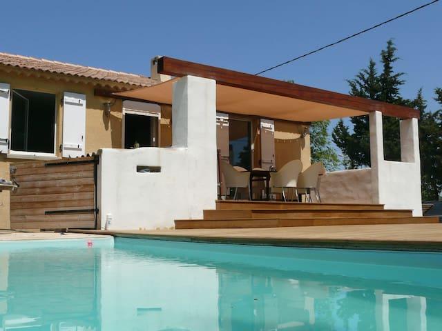 Villa avec piscine Provence Verte - Sainte-Anastasie-sur-Issole - House