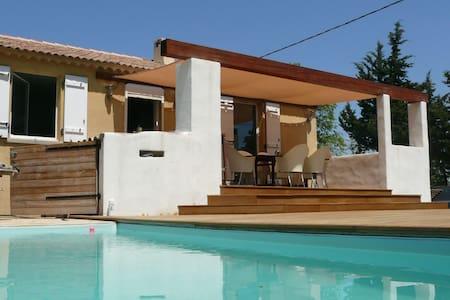 Villa avec piscine Provence Verte - Sainte-Anastasie-sur-Issole