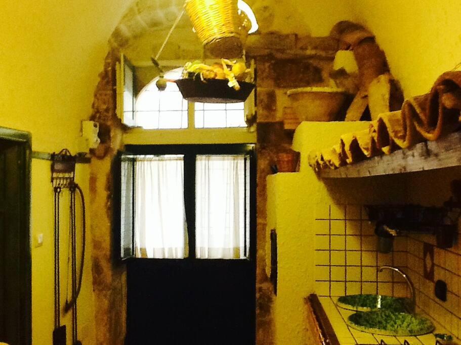cucina/ entrata secondaria