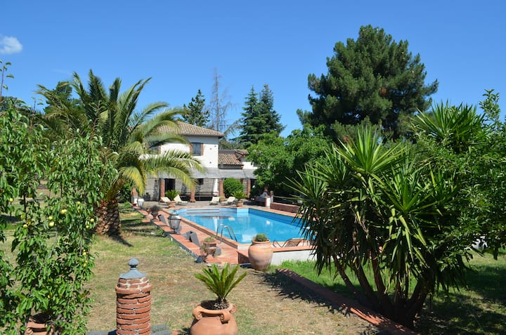 Villa with swimming pool Etna Park