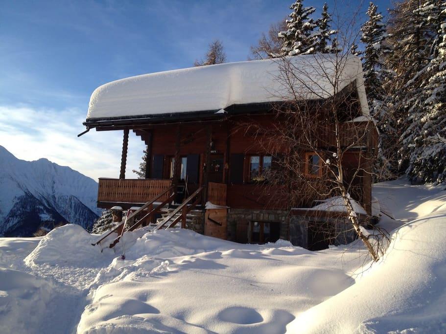 Chalet Tannenduft Winter