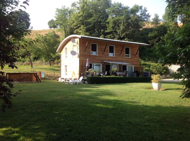 Maison d'archi pied du Vercors - Chevrieres - Huis