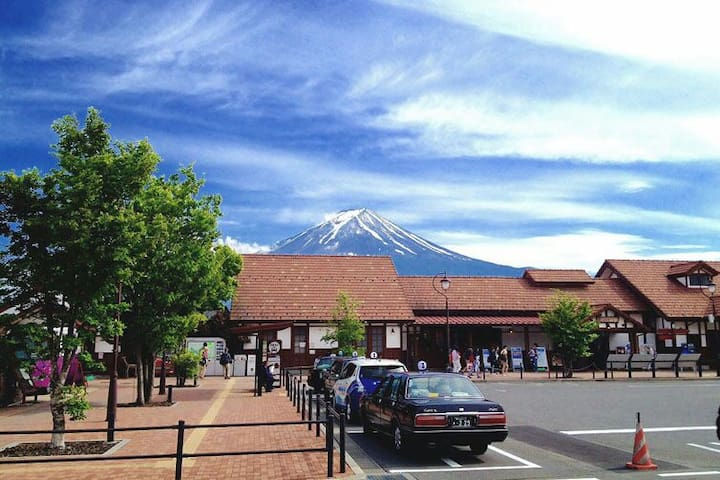 Room with Scenic Beautyof Mt.Fuji2 - Fujikawaguchiko - Appartement