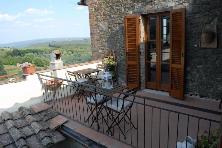 Appartamento open-space con vista. - San Gusmé - Castelnuovo Berardenga - Appartement