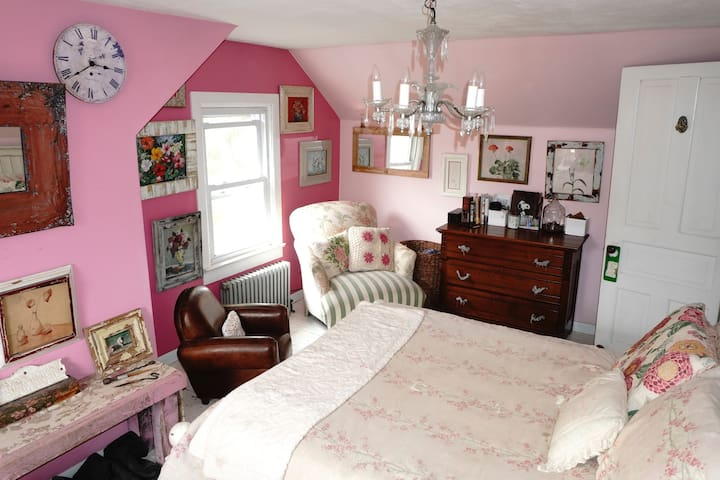 Pink Room at Camp Griffin