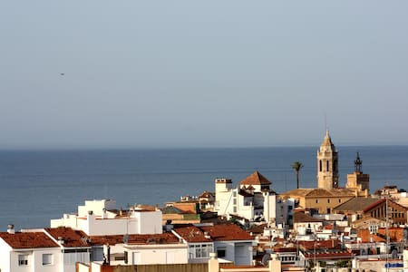 AMAZING GREAT VIEWS OF SITGES - Sitges - Apartment