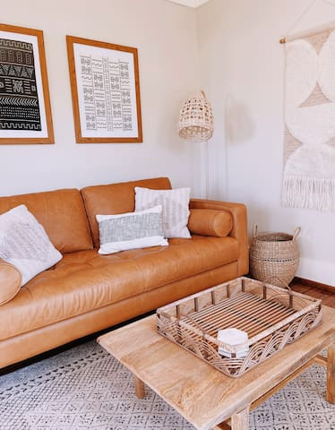 Kick your feet up & relax in the living room