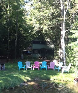 Rustic cabin on Lake Dunmore's North Shore - Salisbury - Chatka