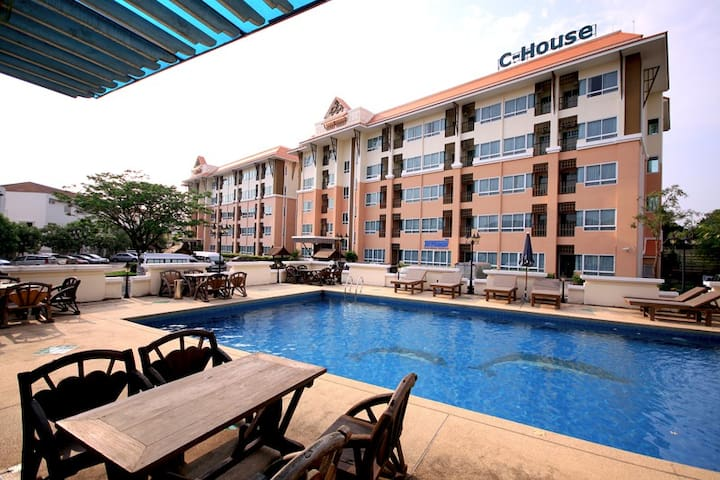 C-House Condo Amata City1 - Pluak Daeng - Appartement