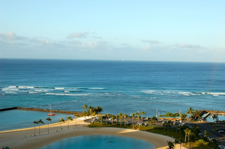 spectacular ocean view from room