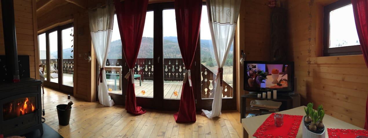 Beau chalet de montagne - Belcaire - Casa